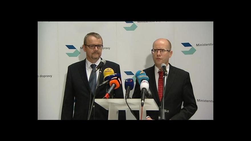 Video Brífink Dana Ťoka a Bohuslava Sobotky