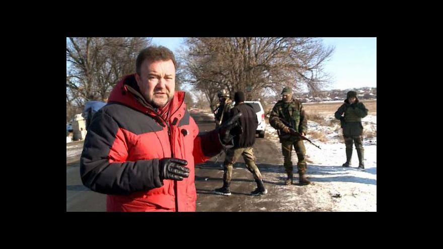 Video Cesta k Mariupoli vede přes Talakovku