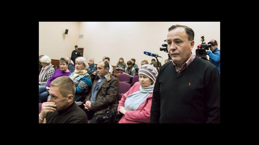Video V Rusku odložili soud s údajným viníkem tragédie v Jaroslavli