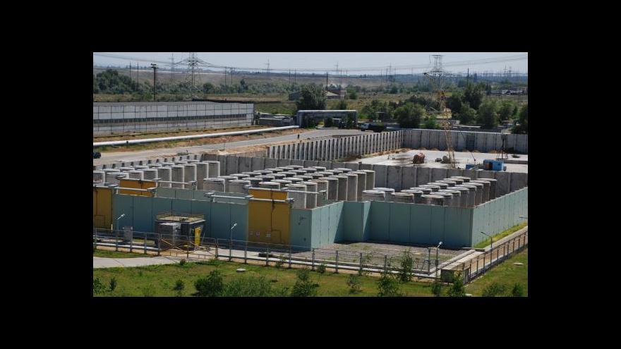 Video Ukrajinská elektrárna hlásí havárii