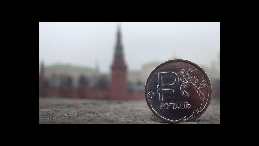 Video Rusko intervenuje a míří k recesi