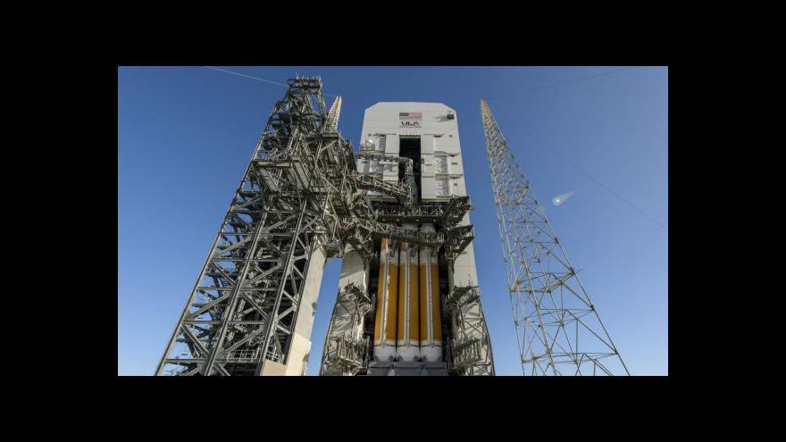 Video Události: Nová vesmírná loď Orion zamíří do vesmíru
