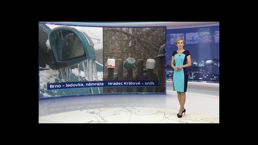 Video Předpověď počasí na středu 3. 12.
