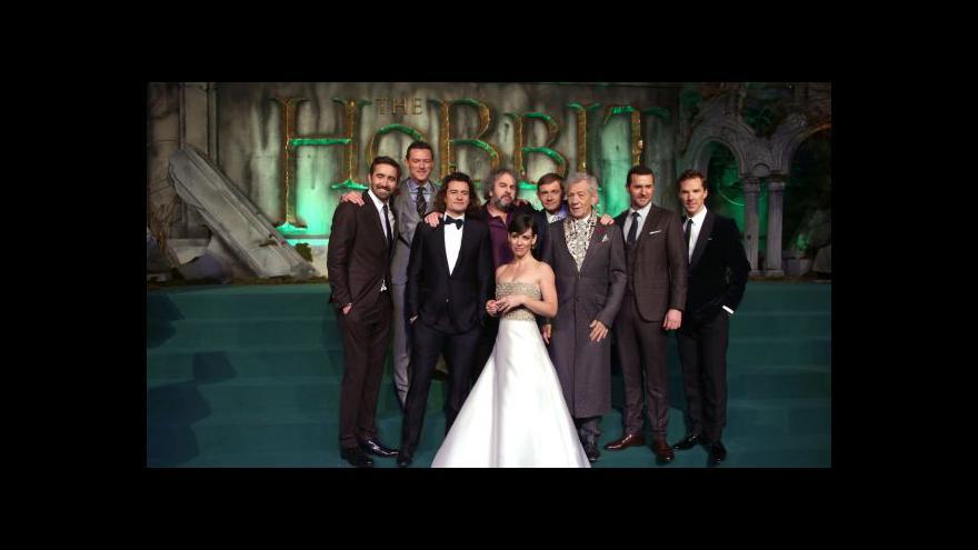 Video Závěrečný Hobit se představil ve světové premiéře