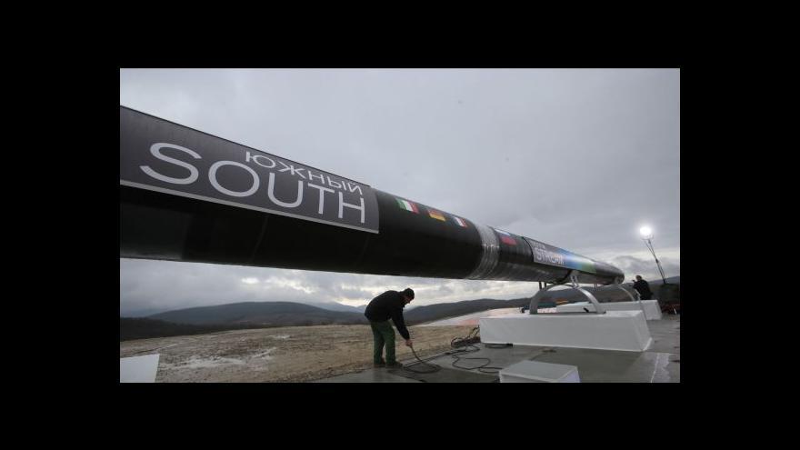 Video Evropská komise: Jednání kolem South Streamu budou pokračovat