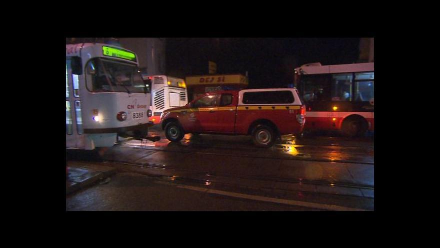 Video Krizový štáb: Úterní provoz pražské MHD zajistí autobusy