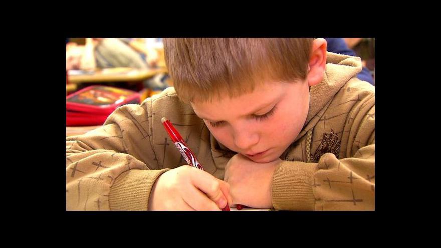 Video Děti půjdou do přípravných tříd