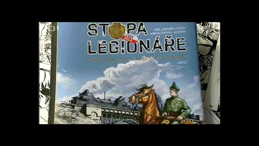 Video Komiksová kniha připomíná čsl. legie