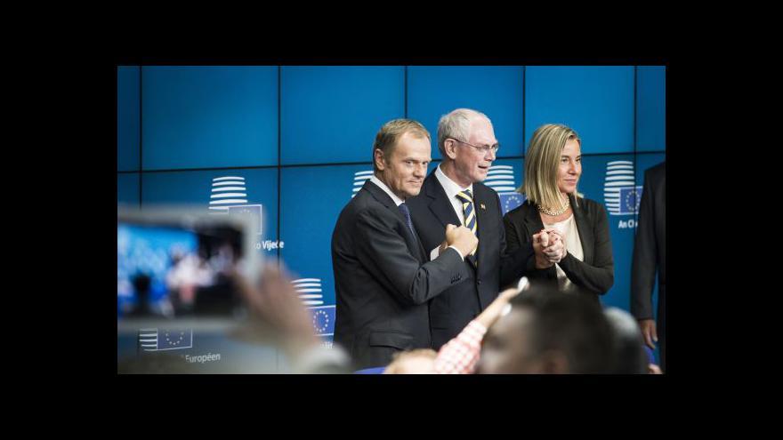 Video Do čela Evropské rady usedl polský expremiér Tusk
