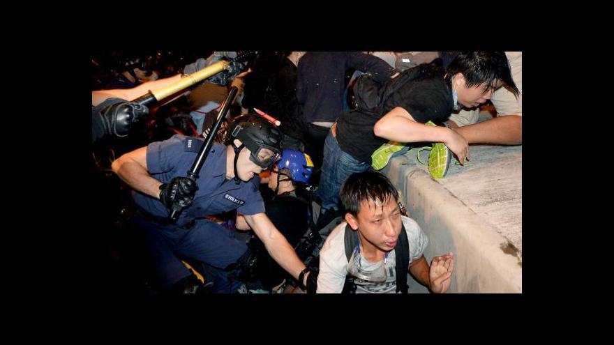 Video Policie v Hongkkongu sáhla k nejhoršímu násilí od začátku protestů