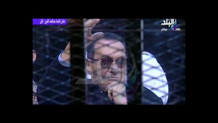 Video Horizont ČT24: Mubarak prý za smrt demonstrantů nemůže