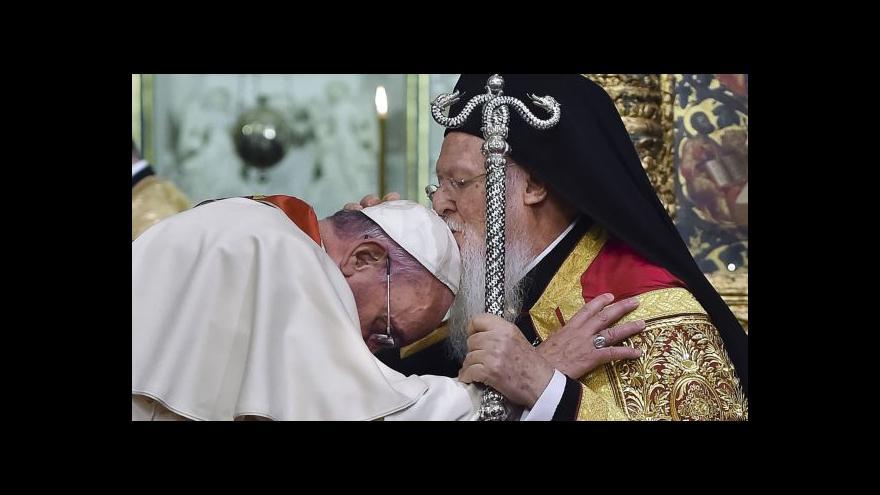 Video Papež vyzval ke sblížení mezi křesťany a muslimy