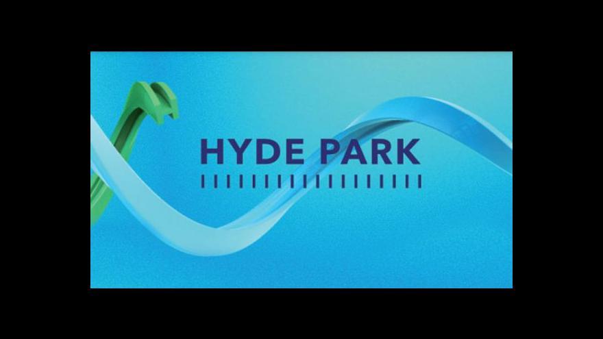 """Video Historik Suk v Hyde Parku: """"Čalfa byl technologem moci"""""""