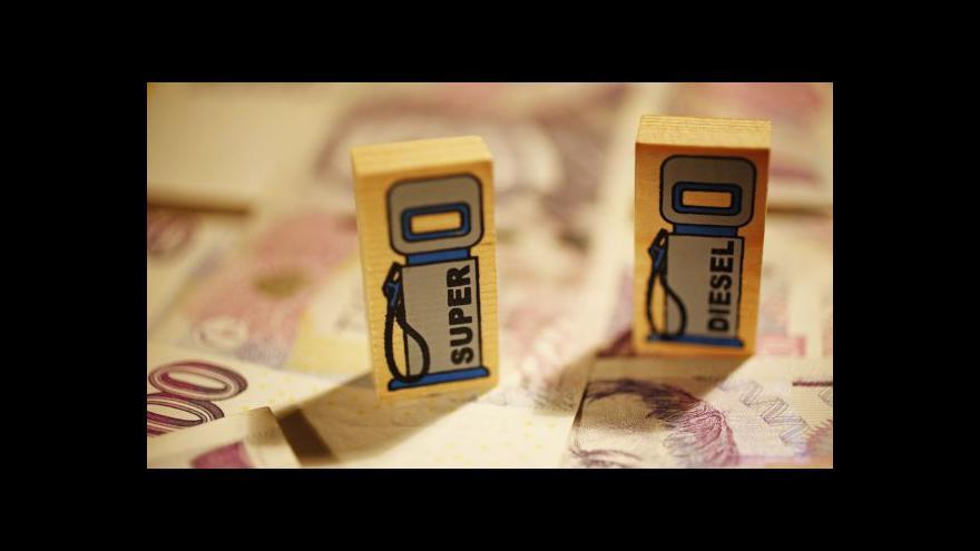 Video Události: Nové kauce pro distributory pohonných hmot