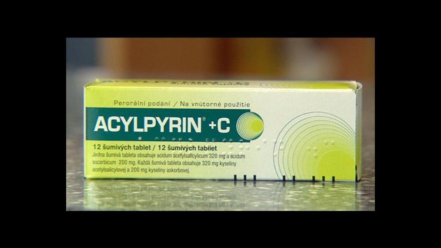 Video Acylpyrin zdraží o 6 korun