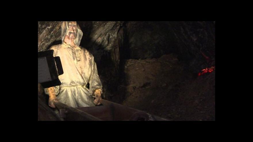 Video Cínový důl Mauricius cestuje s návštěvníky do středověku