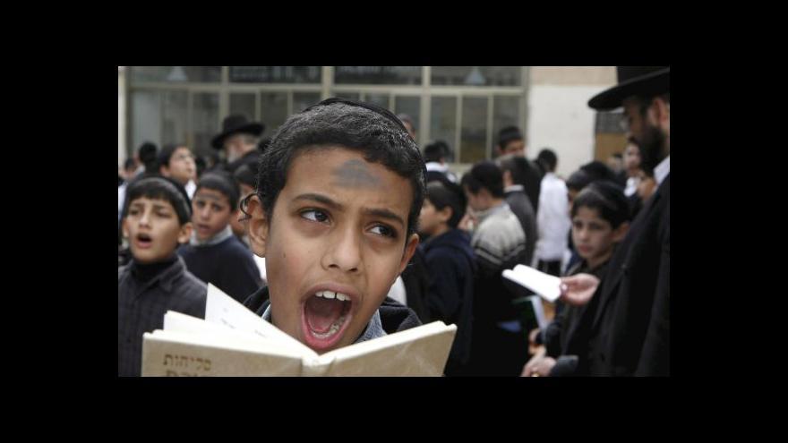 Video Židům se v Íránu žije v posledních letech lépe