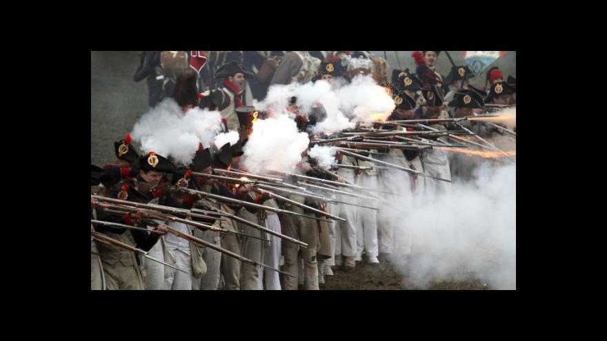 Video Slavkov se vrací do dob císaře Napoleona