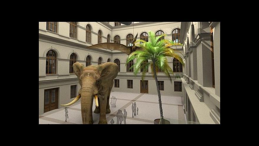 Video Vizualizace: Jak bude vypadat Národní muzeum po rekonstrukci?
