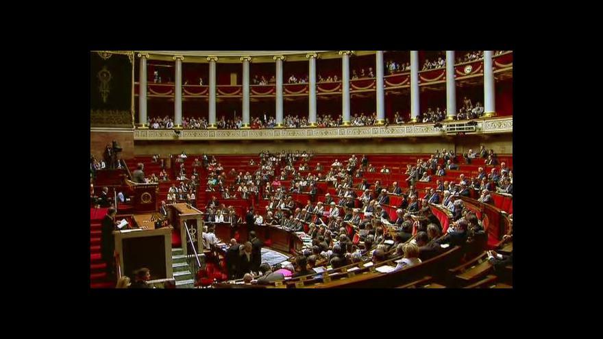 Video Francie jedná o nezávislosti Palestiny