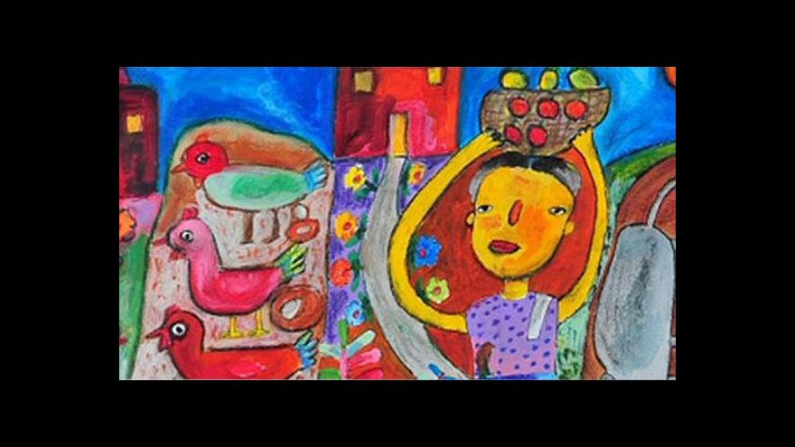 Video Výstava ukazuje to nejlepší z výtvarné soutěže Lidice
