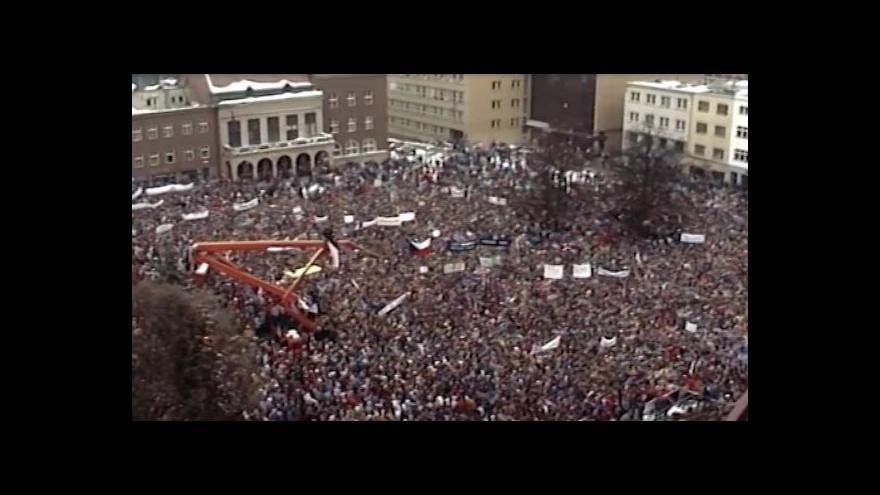 Video NO COMMENT: Generální stávka ve Zlíně