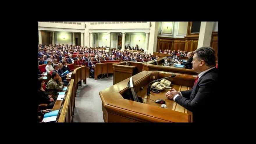 Video Ukrajinistka: V parlamentu už nesedí Janukovyčův řidič a masér