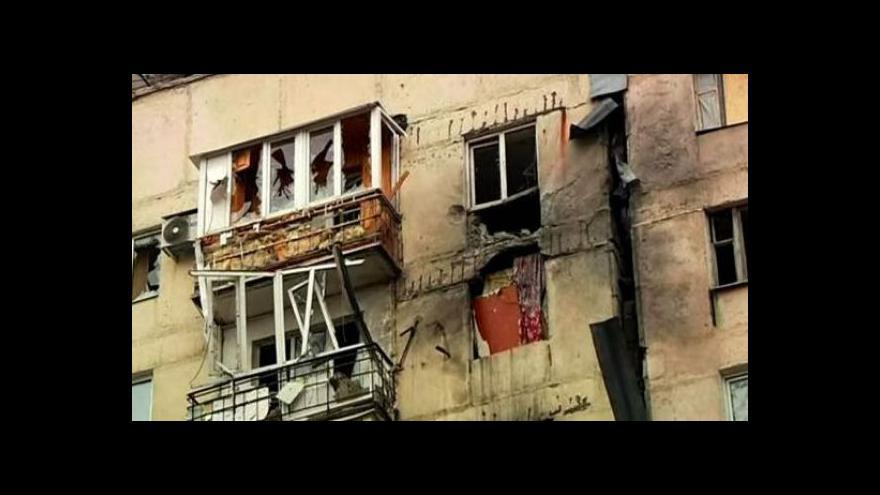 Video Střely se v Doněcku nevyhýbají ani nemocnicím