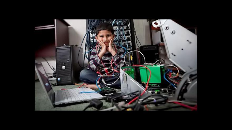Video Nejmladší IT odborník chce vytvořit britské Silicon Valley