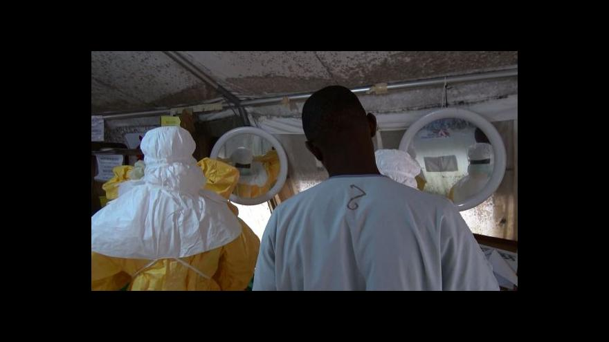 Video Ebola - Den v nemocnici Conakry