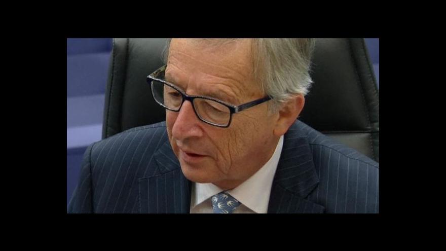 Video Události ČT: Nevyslovení nedůvěry Junckerovi