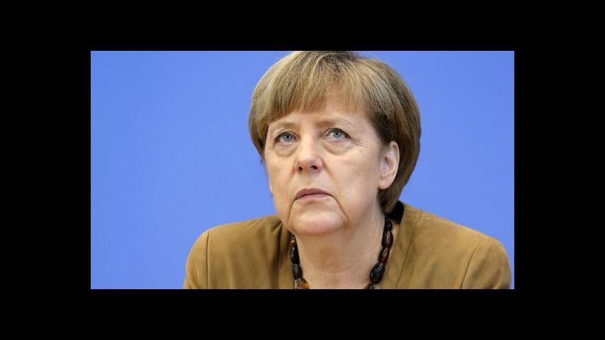 Video Merkelová rezolutně odmítla zrušení sankcí