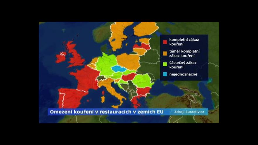 Video Události: Nový návrh na omezení kouření