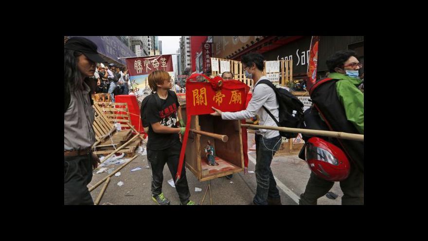 Video Šámalová: Je to velký průlom ve snaze úřadů ukončit protesty