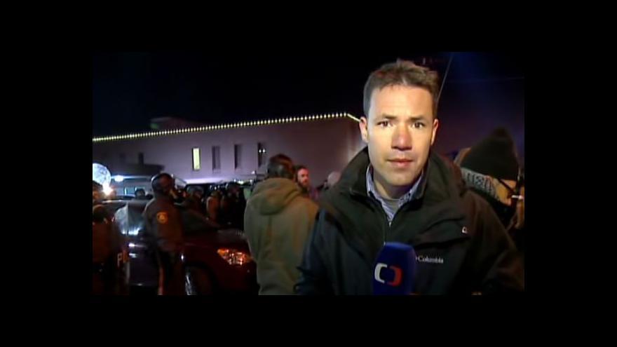 Video Události ČT: Ferguson se chystá na další noc