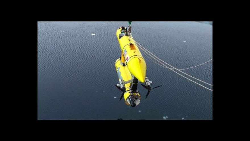 Video Nový podvodní robot ví, jak silná je vrstva ledu v Antarktidě