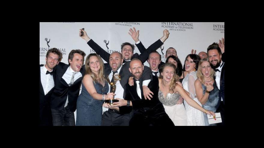 Video Mezinárodní ceny Emmy jsou rozdány