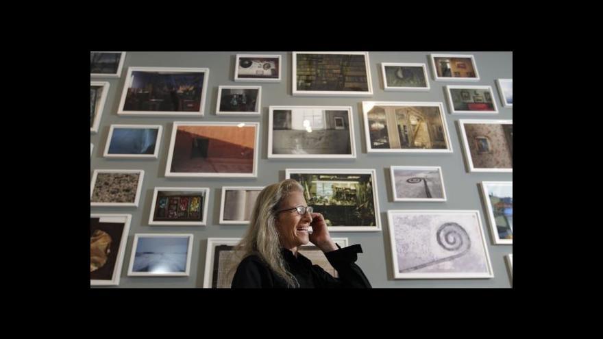 Video Výstavní pouť Annie Leibovitzové po dvou letech končí