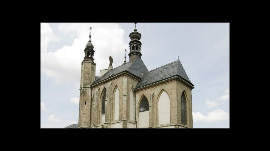 Video Události: Kutnohorská kostnice projde rekonstrukcí