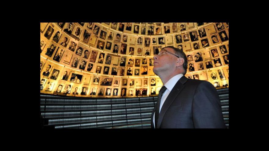 Video ČR a Izrael utužily spolupráci, Sobotka podpořil mírový proces