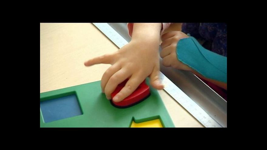 Video Týden rané péče upozorňuje na služby pro rodiny postižených dětí