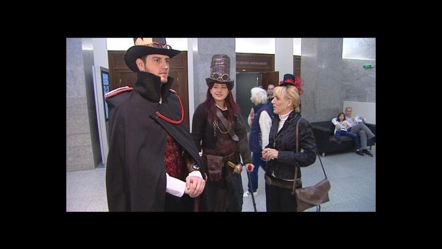Video Ondřej Neff: Ve steampunkovém světě by mi nic nechybělo