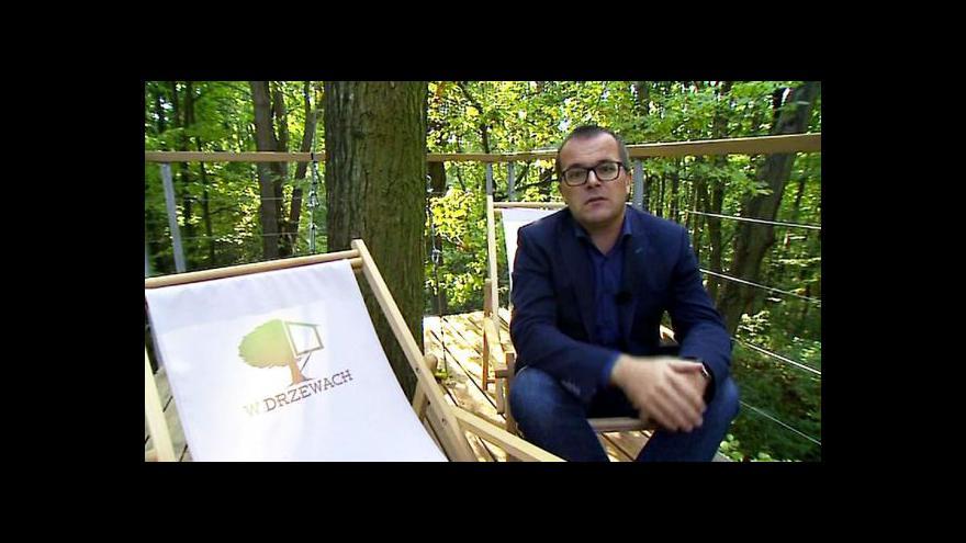 Video V Polsku mají unikátní hotel ve stromech