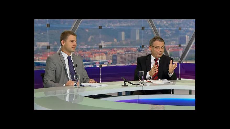 Video Lubomír Zaorálek a Petr Mach v OVM