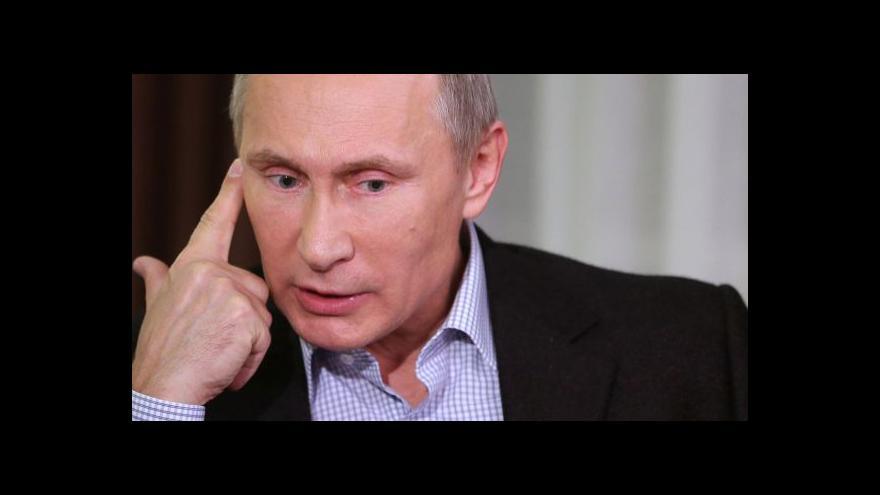 Video Putin: Éru monarchie Rusko dávno uzavřelo