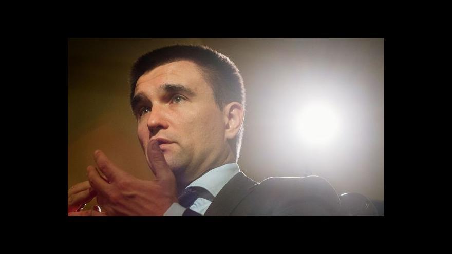 Video Exkluzivní rozhovor ministra Klimkina pro ČT