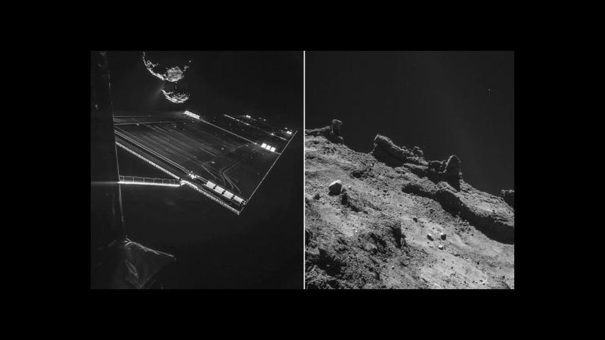 Video Astronom: Philae se nepodařilo provrtat povrch komety