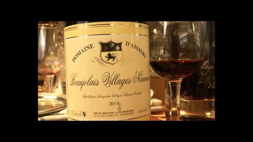 Video Beaujolais nouveau je opět zde