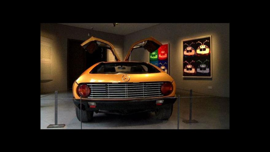 Video Německé muzeum vystavuje auta Andyho Warhola