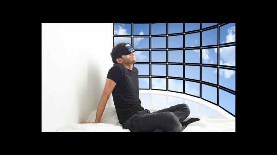 Video Britský umělec chce žít ve virtuální realitě